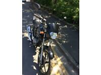 Yamaha YBR 125 with 150cc barrel