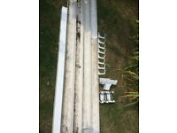 Guttering (Used, Square) : Inc. Guttering / Downpipe / Joins / Clips
