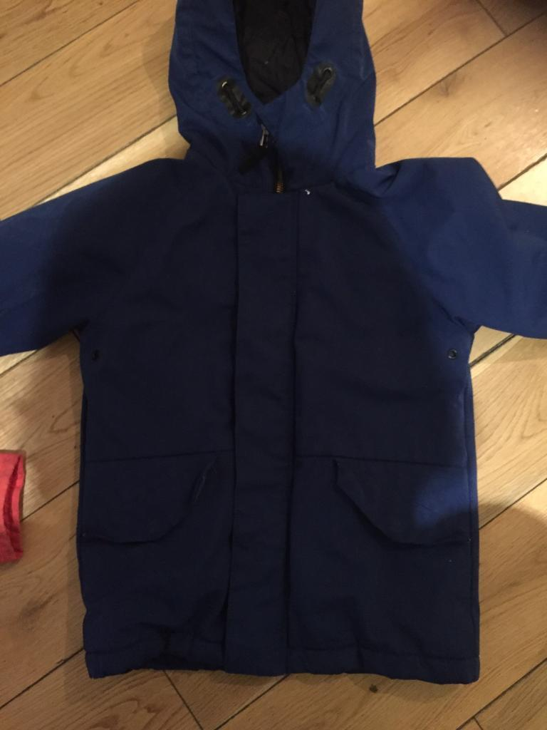 213ad9621 Blue boys winter coat age 5 | in Dundee | Gumtree