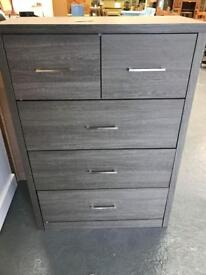 New Grey Chest of Drawers