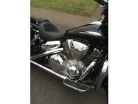 honda vtx 1300 ***ONLY £3650 custom cruiser/ touring back packers dream
