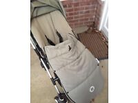 Bugaboo bee with extras