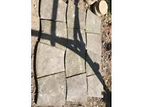 Patio paving slabs for free - GONE!