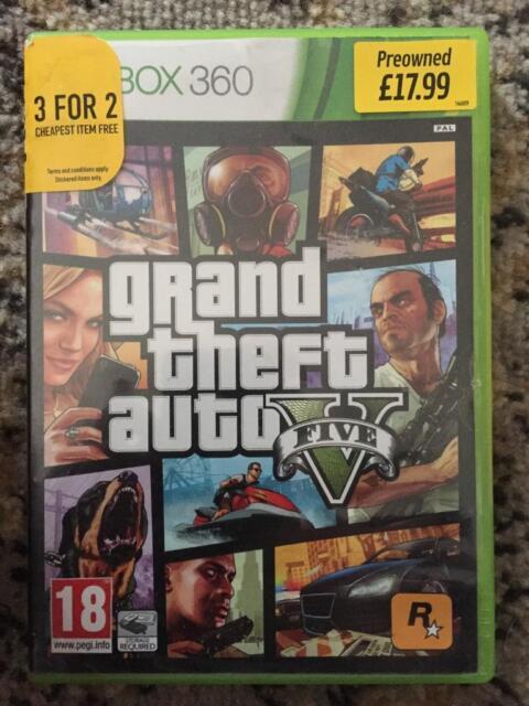 Grand Theft Auto 5, V, GTA 5, GTA V  X BOX 360, not Xbox one | in Alton,  Hampshire | Gumtree