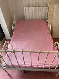 2 matching children's Ikea extendable beds