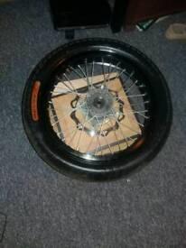 Motor bike wheel