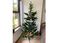 6.6 foot artificial Christmas tree