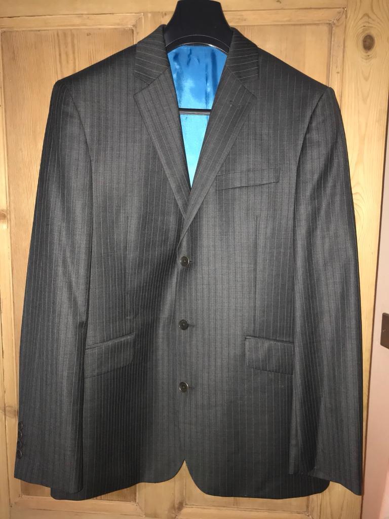 Next pin stripe suit