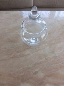Glass Apothecary Bonbon Jar