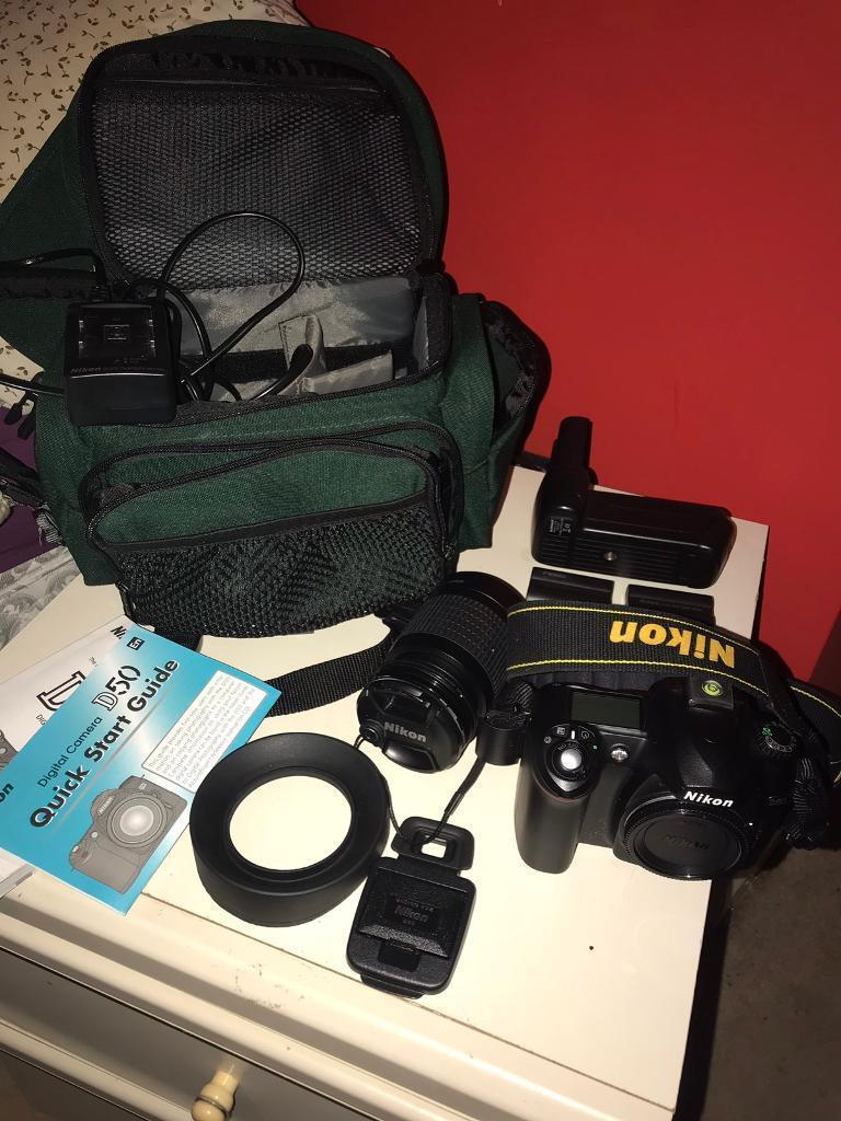 Nikon D50 camera | in Holt, Norfolk | Gumtree