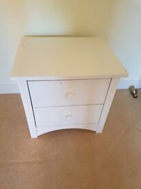 Bedside table - 2 drawers