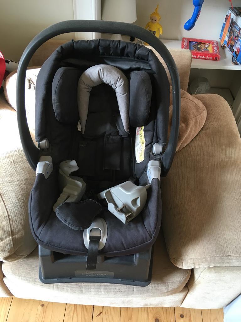 Mamas And Papas Primo Viaggio Car Seat Base Adapters To Fit Into ORA Pram