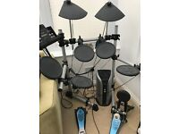 Yamaha Drum Kit + Roland amplifier +stool