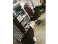 Salon chairs used for sale 3 available