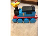 Thomas the tank engine ride on train set vgc