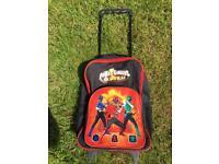 Power Rangers suitcase