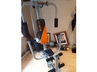 MULTI GYM V-fit-Herculean-CUG2-Compact-Upright-Home-Multi-Gym-72kg RRP 380.