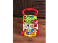 Vtech First Steps Baby Walker - Used
