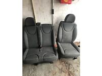 2007 -2014 Citroen dispatch scudo expert Drivers and passenger side seats complete good condition