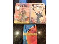 Roald Dahl: The BFG, The Witches, James & The Giant Peach