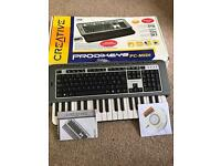 Prodikeys PC-MIDI keyboard