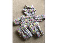 M&S girls Fleece onesie age 11-12