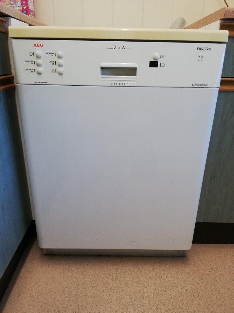 Aeg Favorit Sensorlogic Turbodry Dishwasher Used Excellent Working