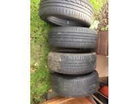 Kumho 195 45 R16 Tyres x4 reduced
