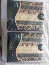 Curtains 2sets fully lined