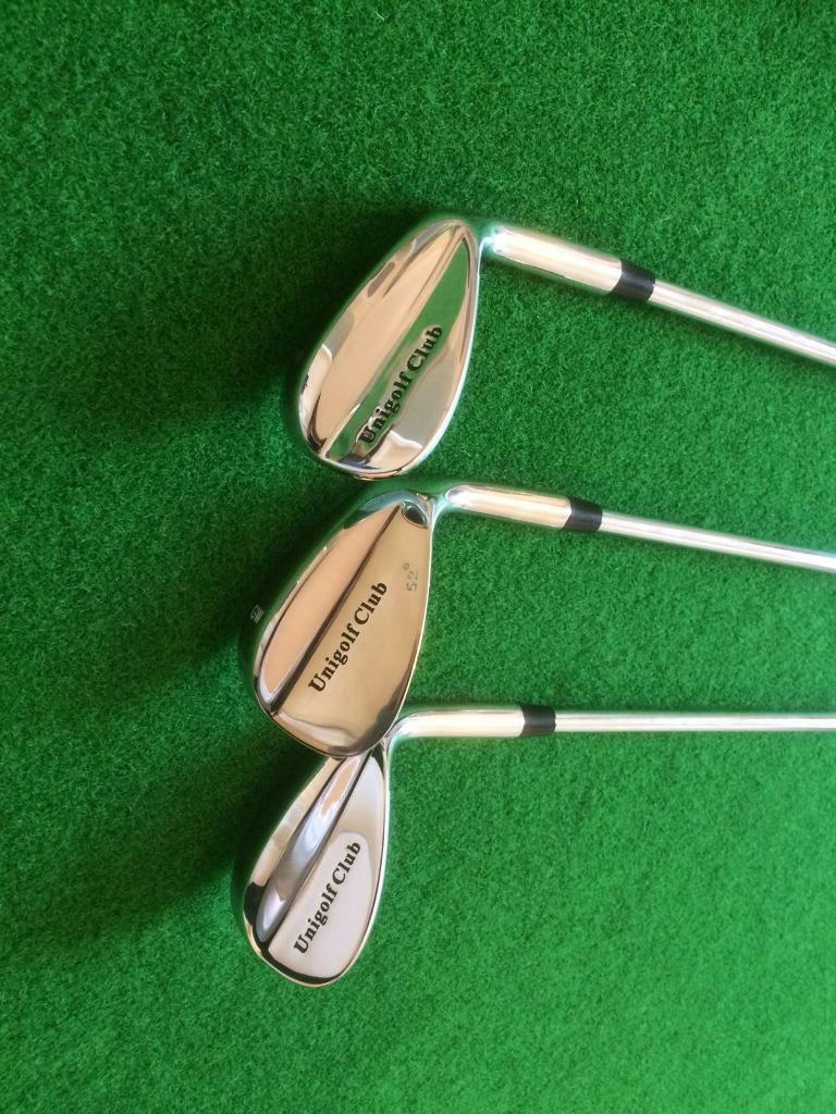 Brand new uni wedges,52,60,62 deg,£10 each or 3 for £20