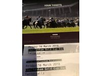 *Face Value* Cheltenham Gold Cup Tickets Tattersalls Friday 16th May Tatts