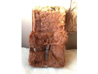 Vintage Swiss Military Cowhide Backpack (1944, fantastic condition)