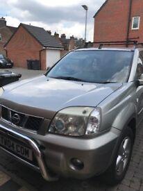 Nissan x trial 2005 Manual 2.2disel 161000 miles Sunroof 07590558398 Anna £1700