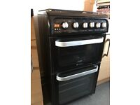 Black ultimate Hotpoint Cooker
