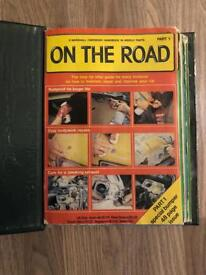 On the road maintenance book