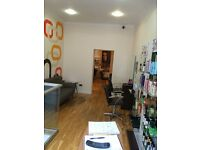 Hairdressing chair for rent near Edinburgh city centre