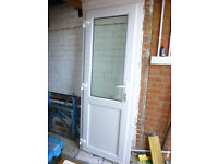 uPVC door, multilocking 750 x 2015mm