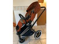Cybex Priam Pushchair with accessories - only used with one child