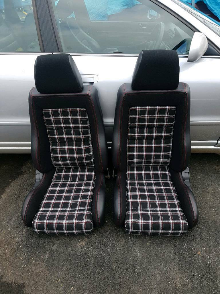 Car Seat Recaro >> Recaro seats in mk1 golf caddy fabric | in Wimborne, Dorset | Gumtree
