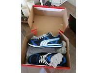 Puma Safety trainers size 10