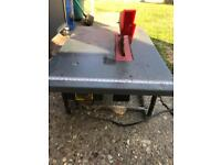 Table top electric saw