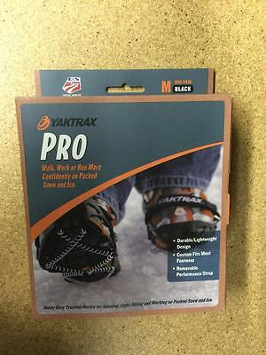 Yaktrax Pro Traction Cleats Pullover For Snow And Ice - Medium