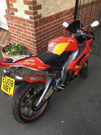 SOLD Aprilia Rs125 rs 125 motorbike 125cc