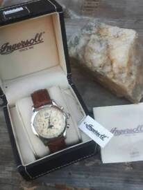 Mens limited edition ingersoll triple date moonphase montana automatic as new