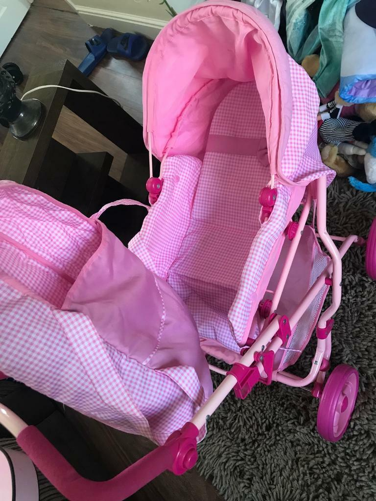 Kids pushchair as new