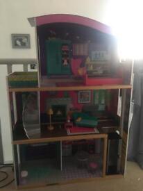 Huge dolls house