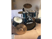 Tama Drum Kit with Cymbals and Snare