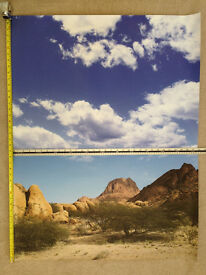 Desert Background and Sky – Tough, UV sealed, anti-tear, high quality!