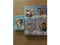 Friends complete series 1 - 5 dvds