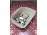 STOKKE Tripp Trapp New Born Baby Seat - unused baby seat for high chair, perfect condition.